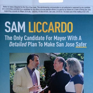 Independent Committee – Primary – Supporting Liccardo