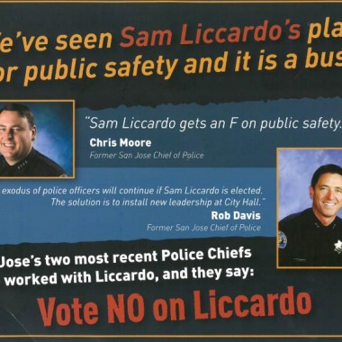 Independent Committee – Union – Against Liccardo