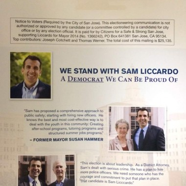 Independent Committee – Supporting Liccardo