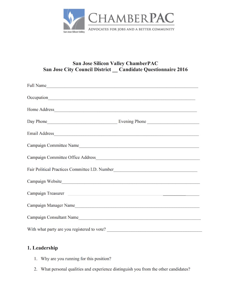 2016-Chamber City-Council-Questionnaire