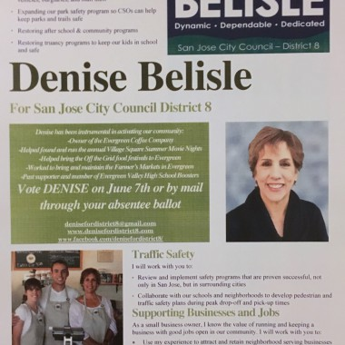 Denise Belisle Walk Piece