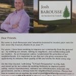 Josh Barousse Walk Piece