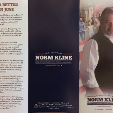 Norman Kline Tri-Fold