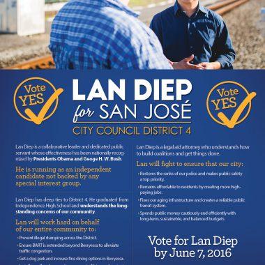 Lan Diep for San José Mailer 1
