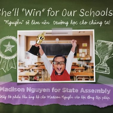 For Madison Nguyen – Assembly District 27