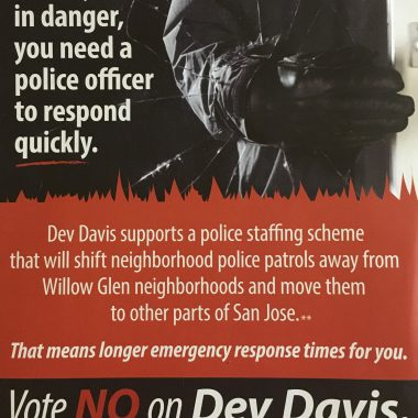 Independent Committee – Mailer – Union – Against Dev Davis